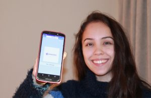 Chilean student created an app selected among the 100 best in the world
