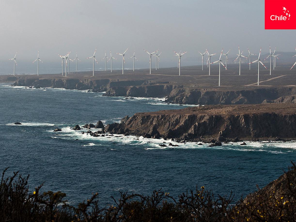 Campo eólico en borde costero | Marca Chile | Toolkit