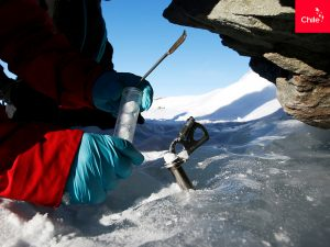 Ciencia en Glaciar Unión, Antártica   Toolkit   Marca Chile
