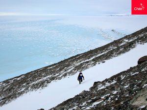 Científicos en Glaciar Unión, Antártica   Toolkit   Marca Chile