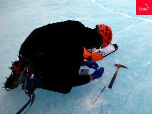 Estudios en Glaciar Unión, Antártica   Toolkit   Marca Chile