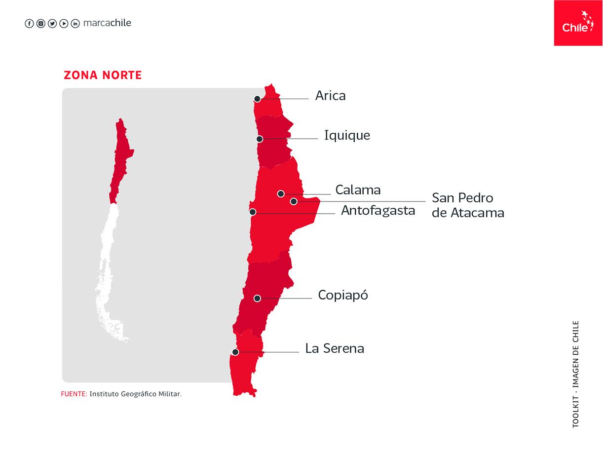 Zona Norte | Marca Chile | Toolkit